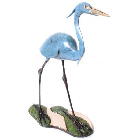 """Blue Heron on Everglades II 17"""" (BA31)"""