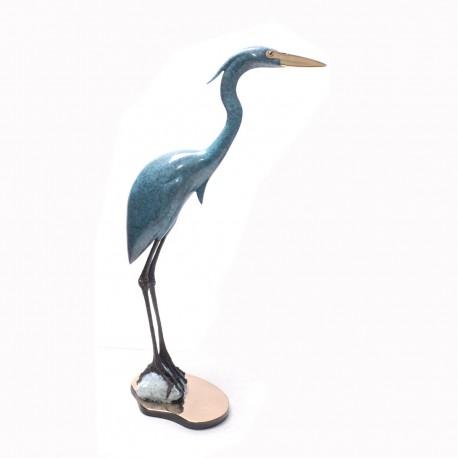 Heron On Rock II