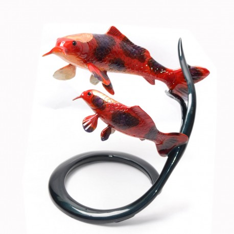 Koi On Reed